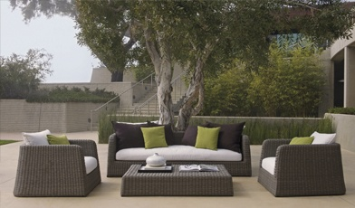 Zeya Outdoor Collection. 100% Recyclable, Handwoven Material.