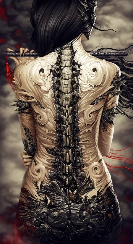 Alexander Fedosov hollllow deviantart ilustrações sombrias fantásticas ficção científica cyberpunk fantasia
