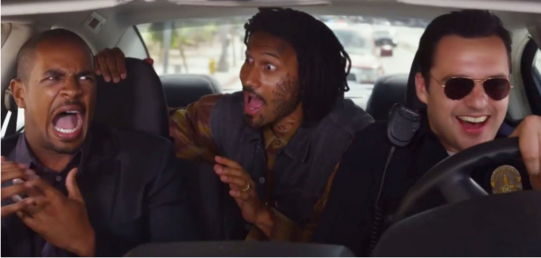 Damon Wayans Jr. e Jake Johnson no trailer da comédia Let's Be Cops