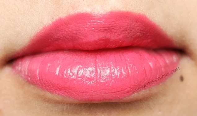 eSpoir no wear touch lipstick PK009 lip swatch