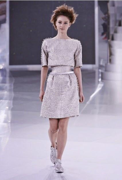 vestido de la colección primavera verano de chanel