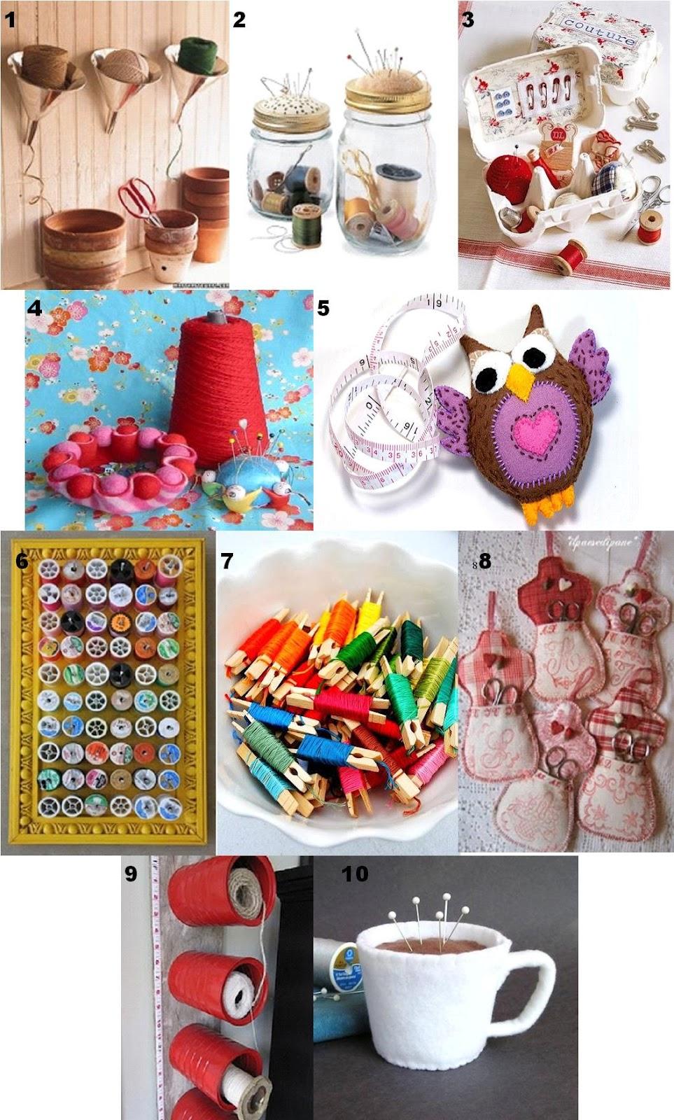 La craft room dei miei sogni - Scatola porta rocchetti ...