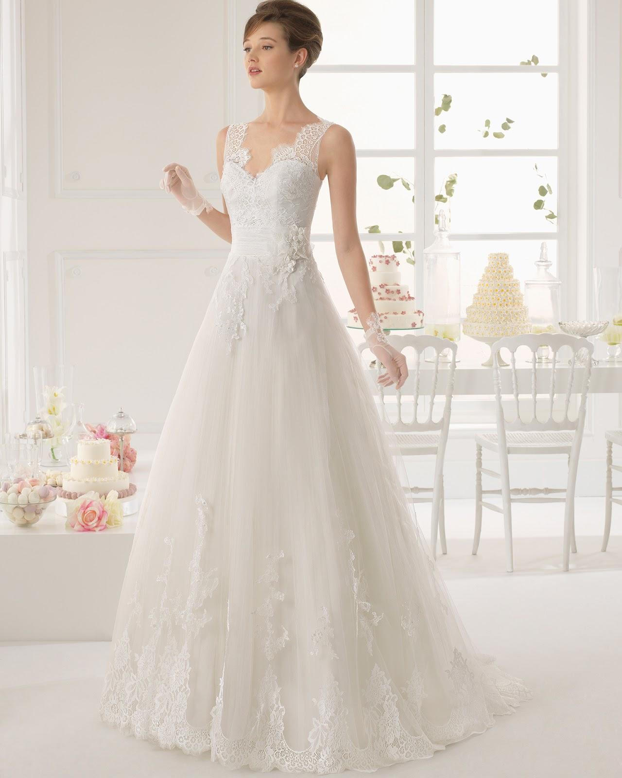 Vestidos de novia para cuerpo recto