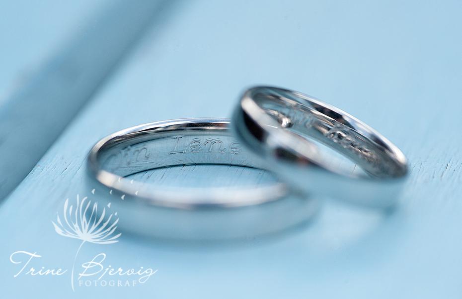 Detaljbilder av gifteringene