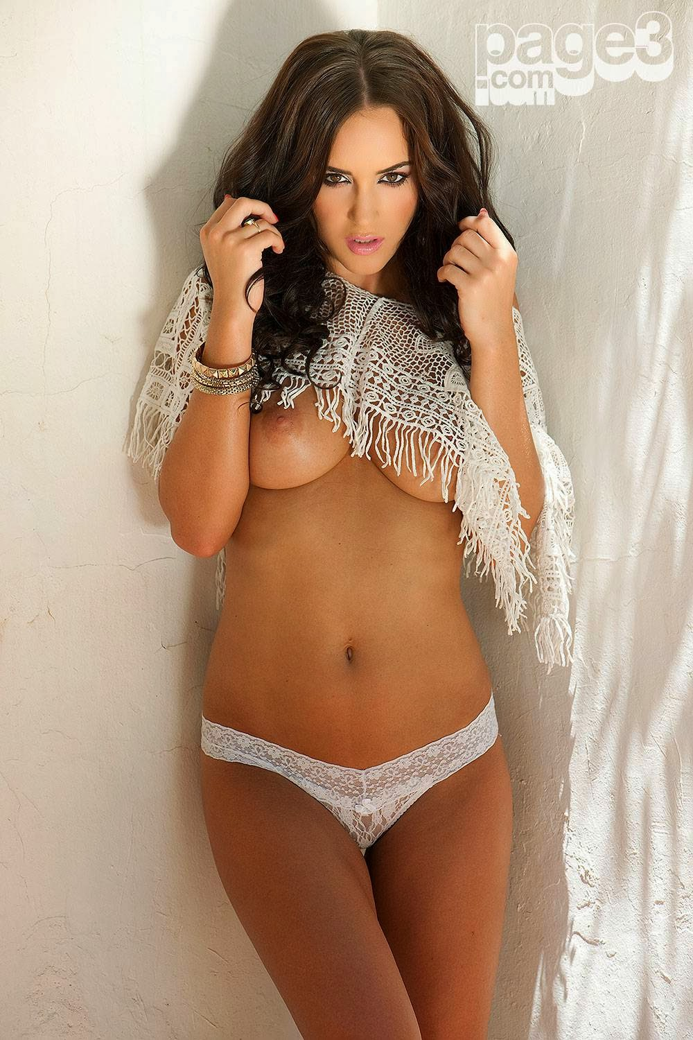 Rosie Jones – Page 3 Topless Photoshoot