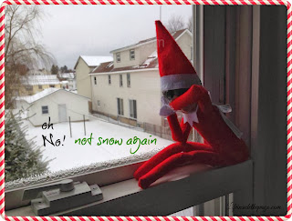 Elf on the Shelf: snow, Shovel, REPEAT
