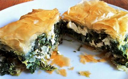 Leek pie, Mediterranean Diet, The Cretan Diet,