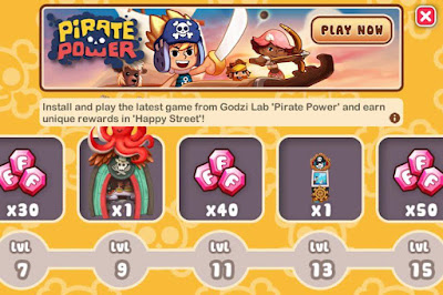 Pirate Power Theme Mission Board