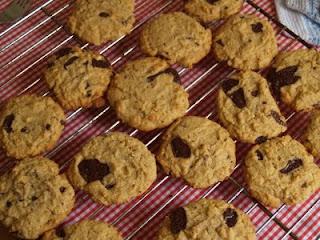 Hjemmelavede peanutbutter cookies