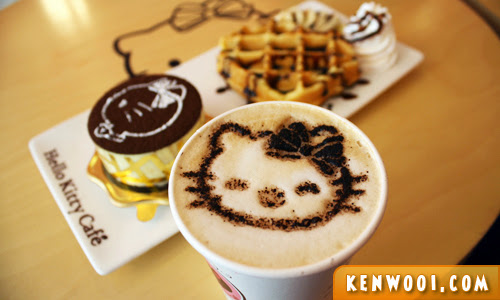 hello kitty cafe dessert