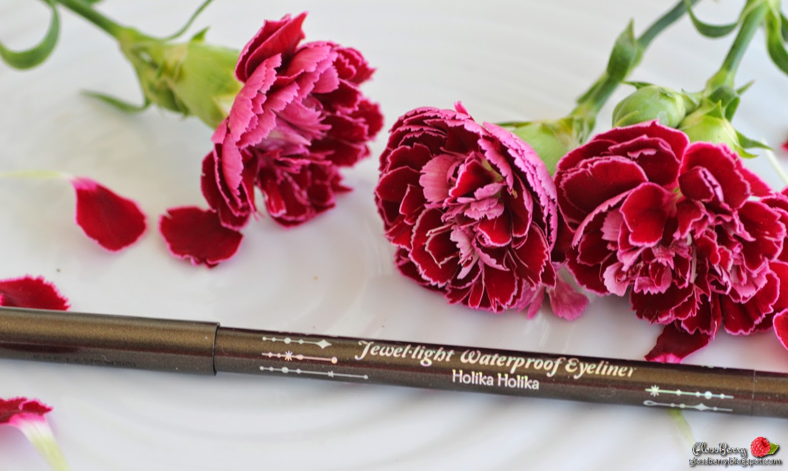 Holika Holika - Jewel Light Waterproof Eye Liner  review swatches korean beauty blog