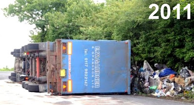 Lorry crash 2011