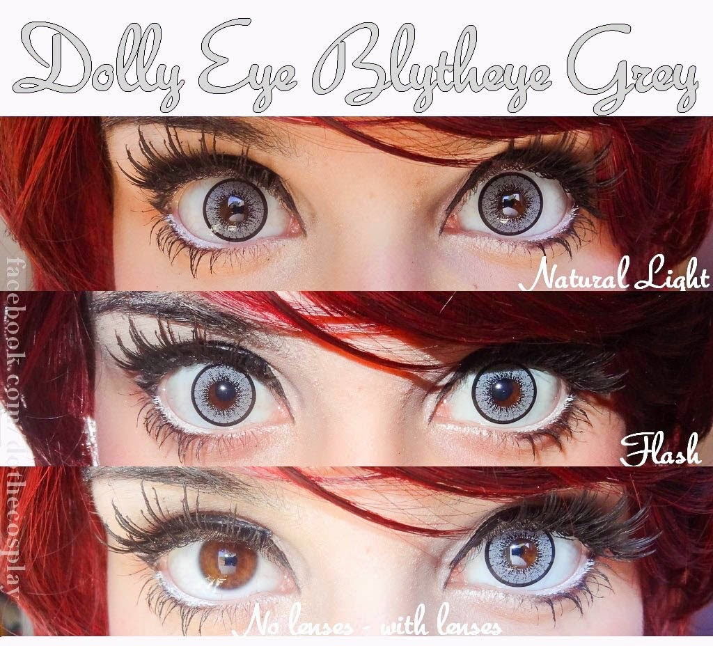 Lucid Grey Circle Lenses for Brown Eyed Beauties