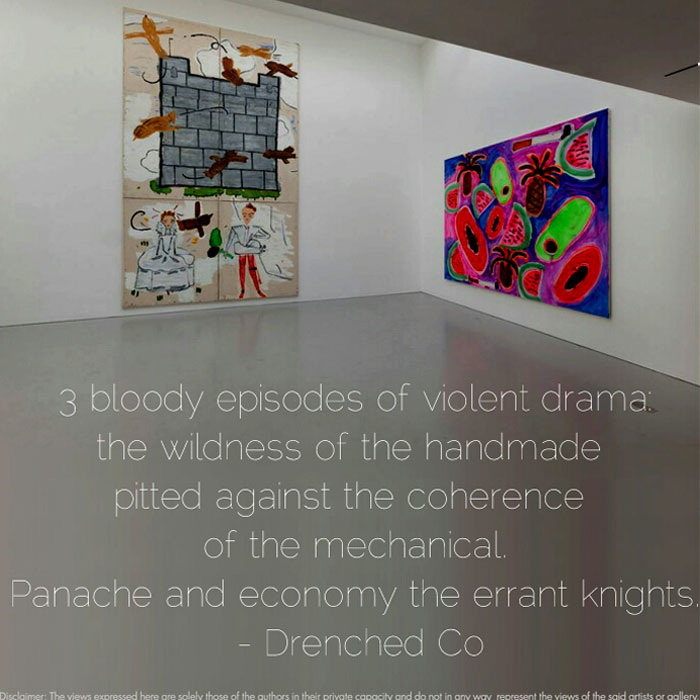 Image of Kate Mac Garry, London with Exhibition Review by Drenched Co