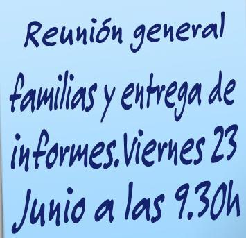 REUNIÓN GENERAL FAMILIAS
