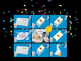 Nyerd meg a több mint 100 JYSK ajándék egyikét.