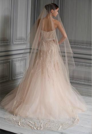 bridal gowns Monique Lhuillier