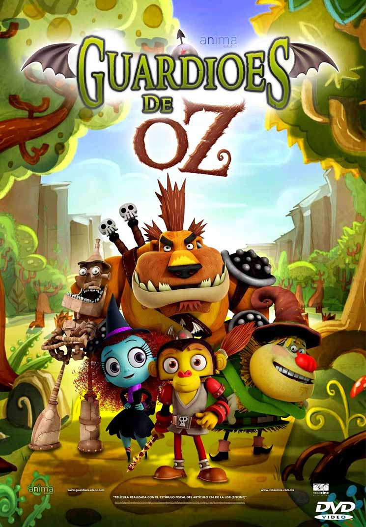 Guardiães de Oz Torrent - WEBRip 720p Dual Áudio (2015)