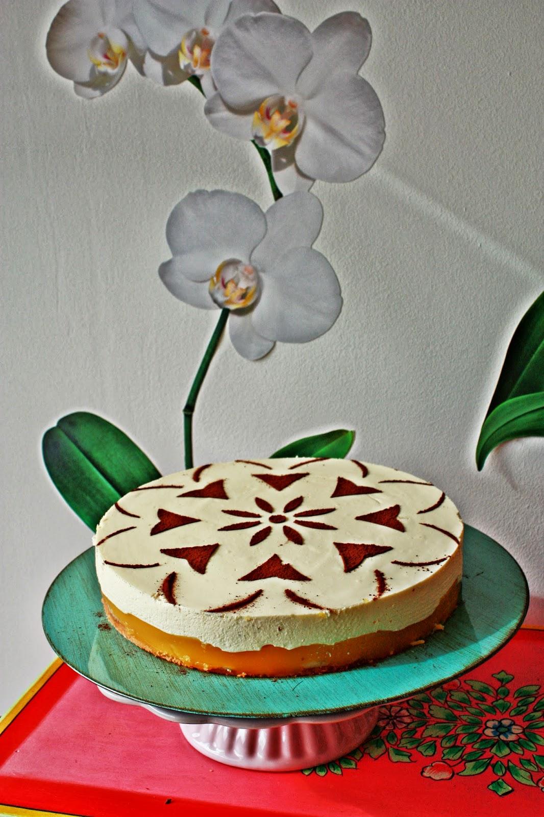 Bananen Maracuja Torte mit Eierlikör Schmand Topping