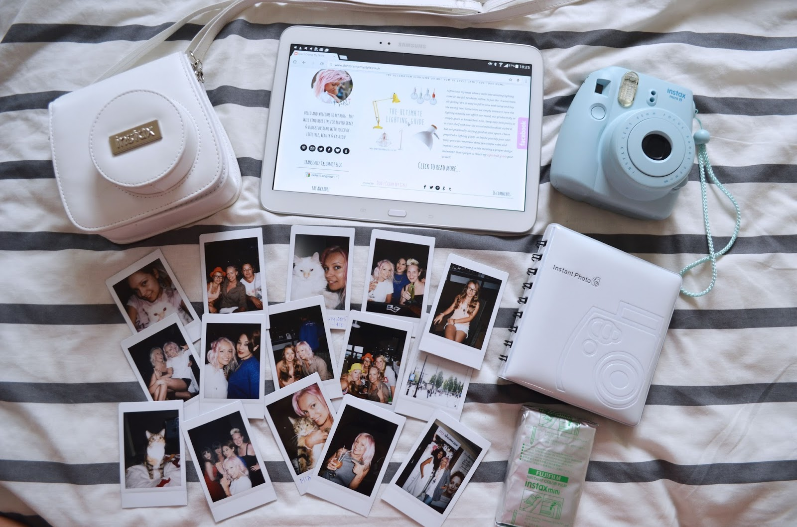 My Love For Instax Mini 8 Fujifilm Dont Cramp Style