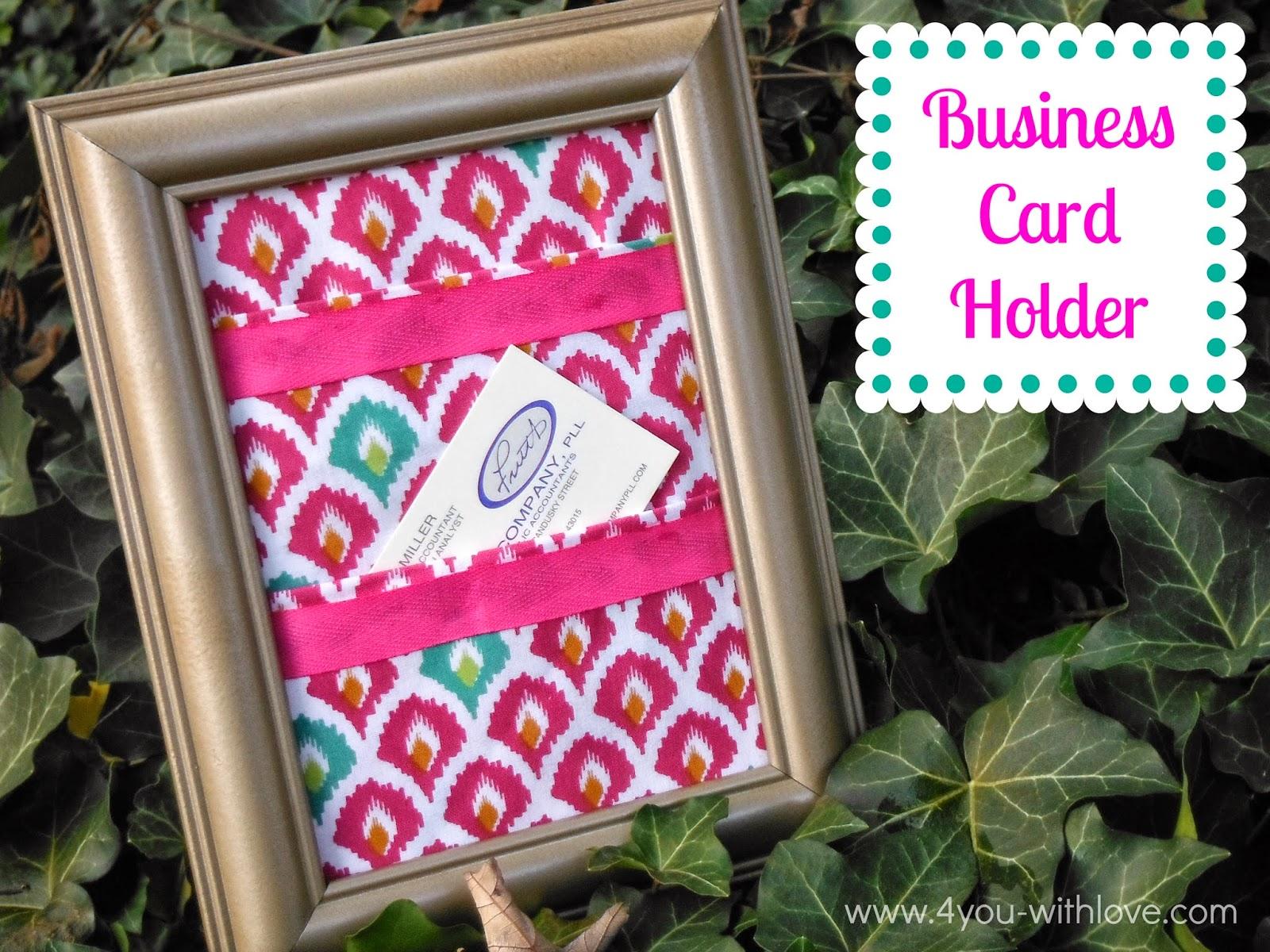 business card holder fat quarter challenge giveaway 4 you