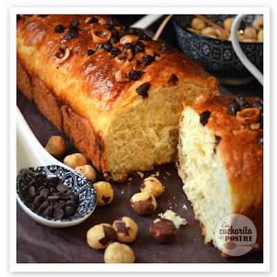 Brioche De Chocolate Y Avellanas / Hazelnut And Chocolate Brioche
