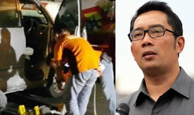Reaksi Ridwan Kamil Kala Bom Meledak di Depan Rumah Dinasnya