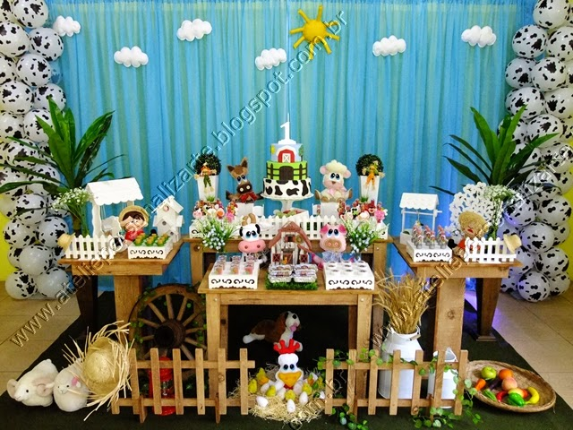 Decoração de festa infantil Fazendinha Porto Alegre