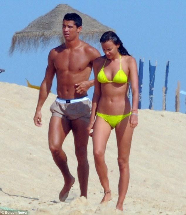 Ronaldo dating irina shayk