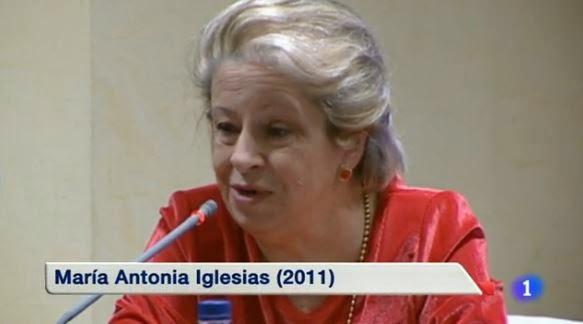 Adiós a la polémica María Antonia Iglesias