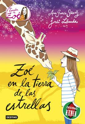 LIBRO - La Banda de Zoé 11  Zoé en la tierra de las estrellas  Ana García-Siñeriz | Jordi Labanda   (Destino - 24 noviembre 2015)  LITERATURA INFANTIL & JUVENIL  A partir de 9 años | Comprar en Amazon España