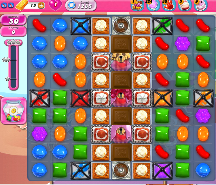 Candy Crush Saga 1285