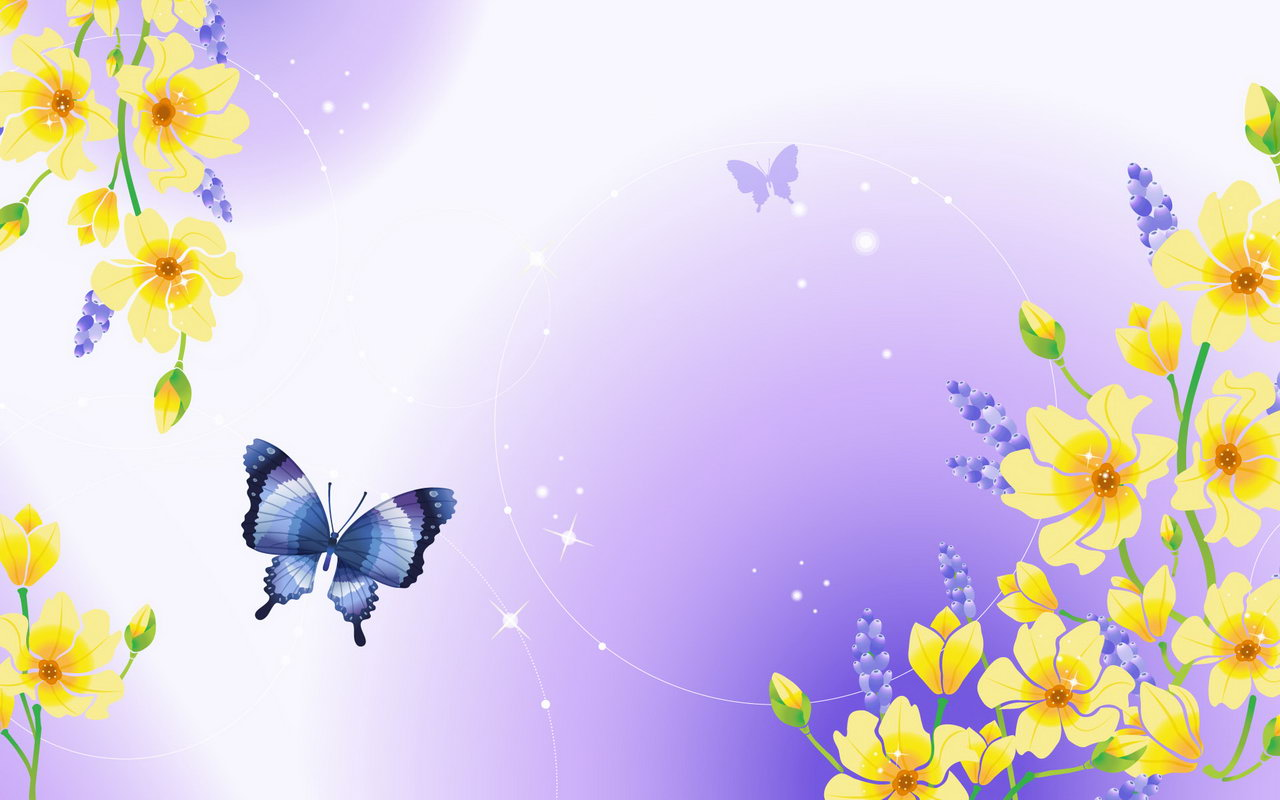 Pink Butterfly Background