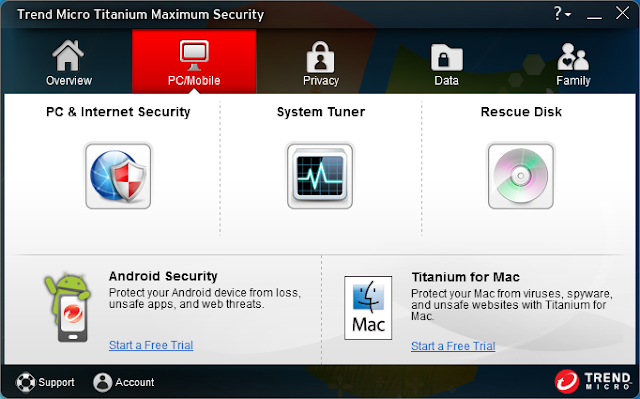 Trend Micro Titanium Maximum Security 2013 – PC and Internet Security