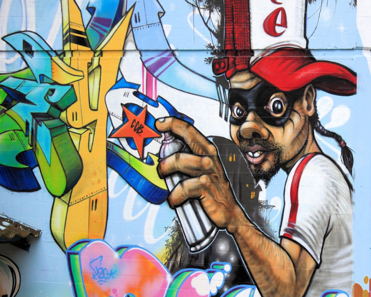 Related with : 60 Gambar Grafiti dan Wallpaper Graffiti Terkeren