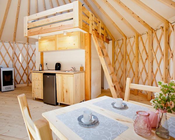 Jurta (domek) mieszkalna całoroczna