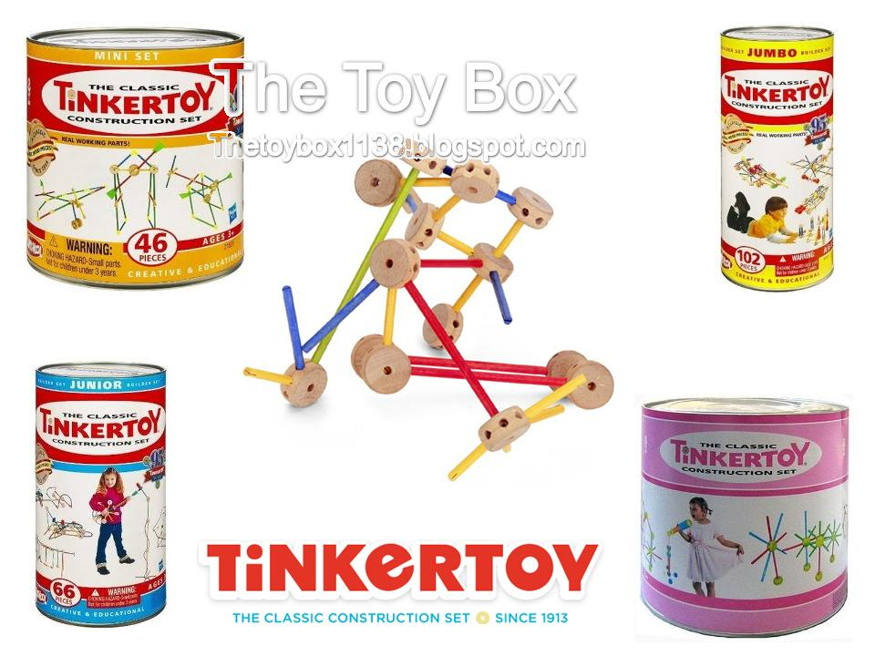 The Toy Box Erector Sets Tinkertoys And Lincoln Logs