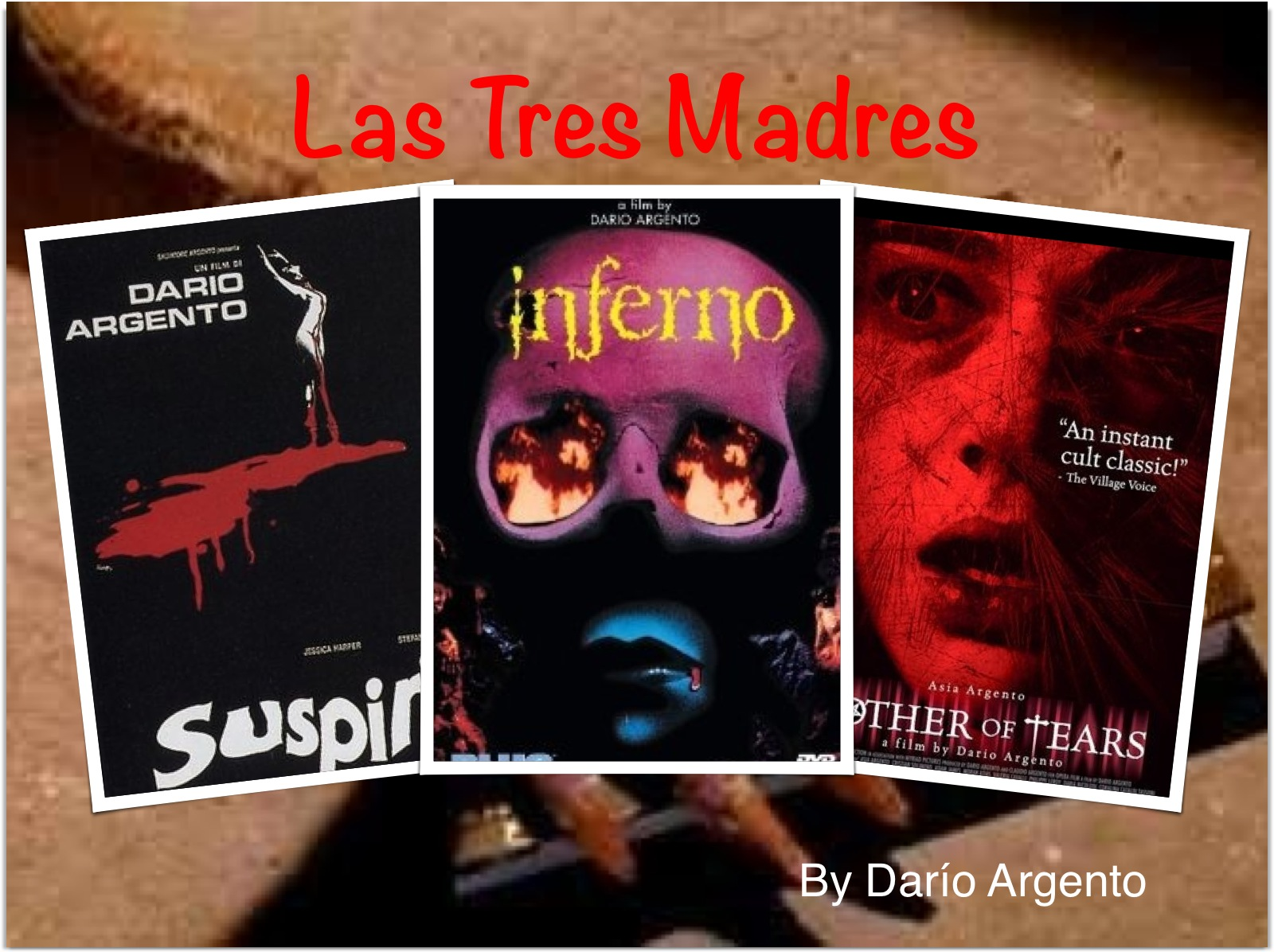 Resultado de imagen para Las Tres Madres portada dario argento