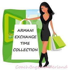 ARMANI EXCHANGE TIME COLLECTION