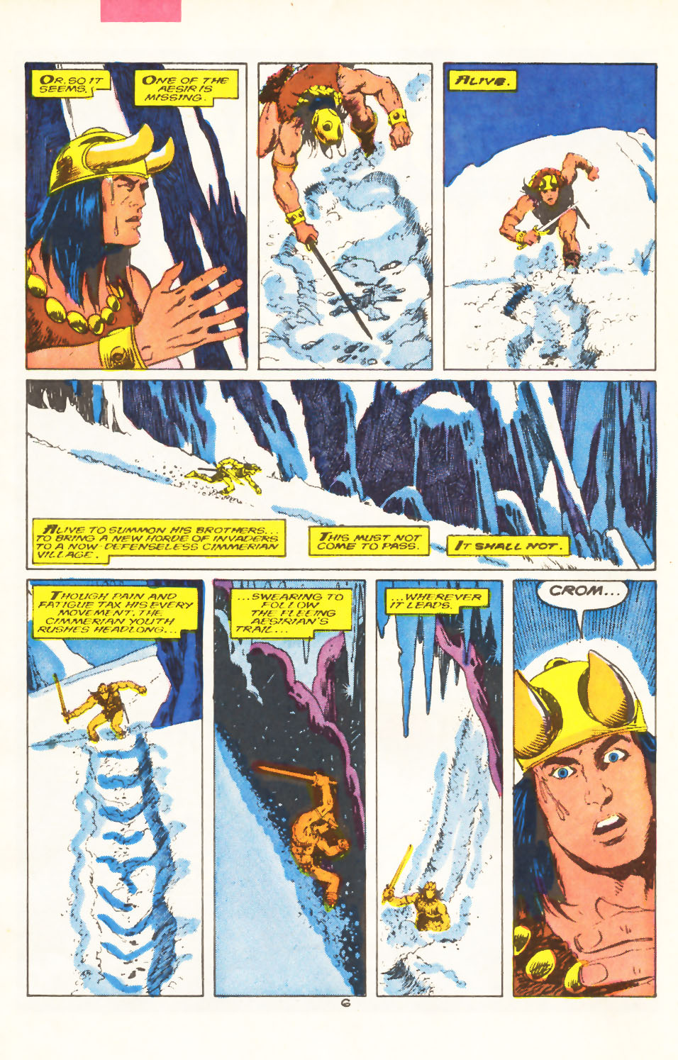 Conan the Barbarian (1970) Issue #211 #223 - English 6