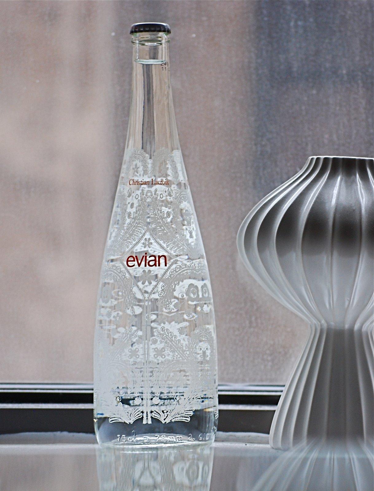 Bonafidebride pretty evian water by christian lacroix - Evian christian lacroix ...
