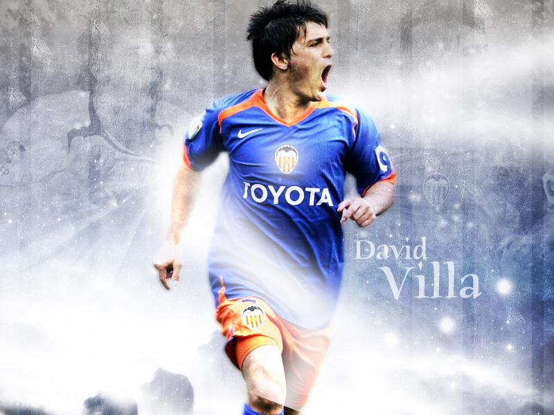 david villa pictures