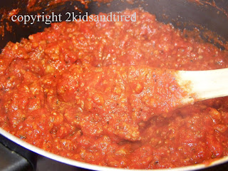 Pasta Sauce  from 2 Kids and Tired Cooks