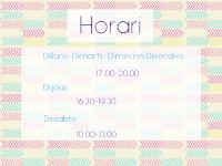 HORARI