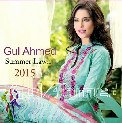 Gul Ahmed Embroidered Summer Lawn Prints Collection