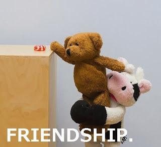 teddy Bears friendship msg