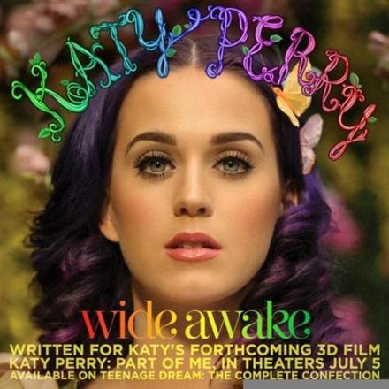 #watch: Katy Perry LOVES Facebook on Wide Awake lyric video!
