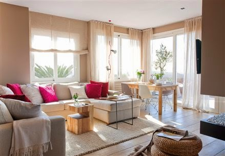 how to decorate living room walls Windows