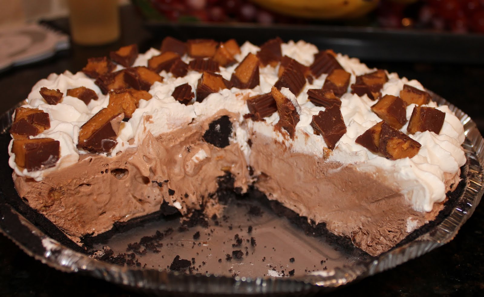 Reese's Peanut Butter Cup Pie – Dallas Duo Bakes