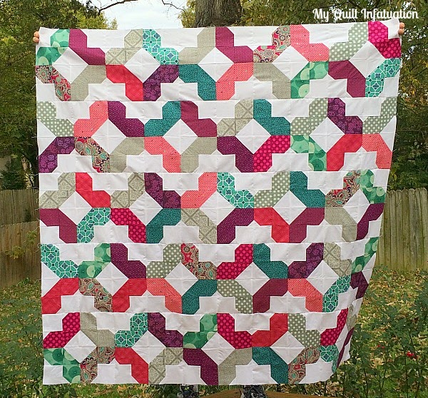Frozen coloured quilt